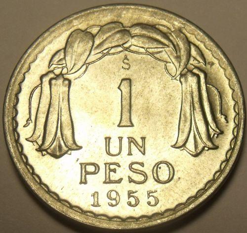 Chile 1955 Peso Unc*