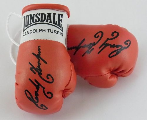 Autographed Mini Boxing Gloves Randolph Turpin
