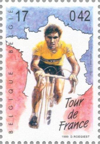 Belgique 1999 Belgie 1v Stamp Eddie Merckx Journey through the 20th century