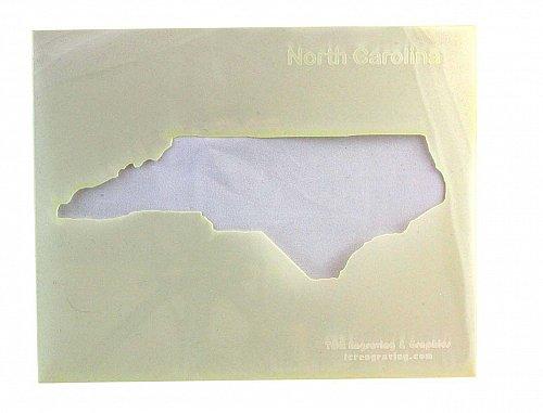 State of North Carolina Stencil -14 mil Mylar Painting/Crafts