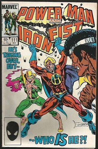 Power Man and Iron Fist #111 Marvel Comics 1984 VF- range