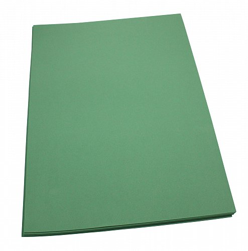 Craft Foam Sheets--12 x 18 Inches -Kelly Green- 5 Sheets-2 MM Thick