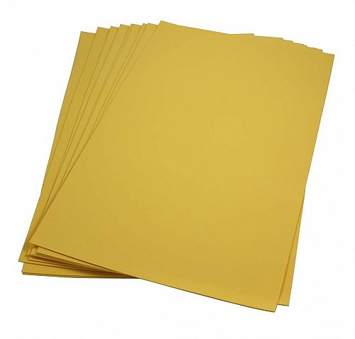 Craft Foam Sheets--12 x 18 Inches -Goldenrod- 5 Sheets-2 MM Thick