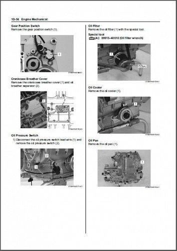 07-14 Suzuki GSF1250 GSF1250S GSF1250A GSF1250SA Bandit Service Repair Manual CD
