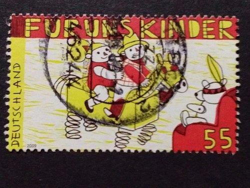 Germany 2009 used 1v 55c SG3619 For us children