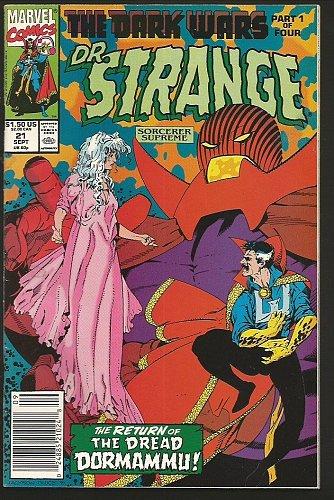 Doctor Strange #21 The Sorcerer Supreme Marvel Comics 1990 Guice DORMAMMU