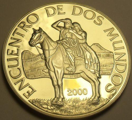 Uruguay 250 Pesos Uruguayos 2000 Silver Proof~8,000 Minted~Rare