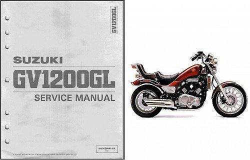 1985-1986 Suzuki GV1200GL Madura 1200 Service Repair Workshop Manual CD