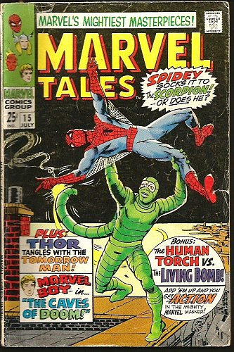 Marvel Tales #15 Spider-man DITKO Thor KIRBY Marvel Boy Human Torch 1950's/1960s