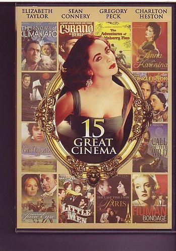 15movie DVD Susan HAYWORD Ava GARDNER Vivien LEIGH Bette DAVIS Kay FRANCIS