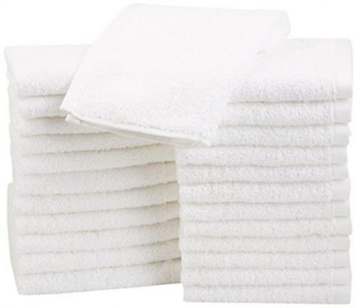 Cotton Washcloths, 24 - Pack New Free ship!