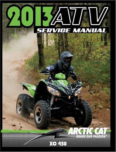 2013 Arctic Cat XC 450 ATV Service Repair Workshop Manual CD - XC450 450XC