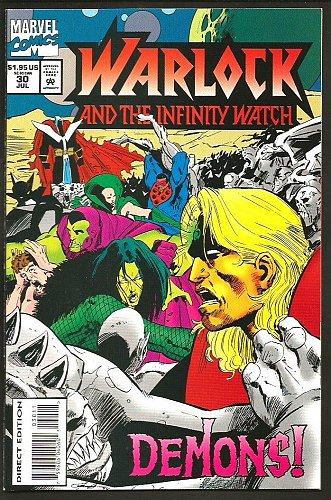 Warlock and the Infinity Watch 30 VF/NM-1994 Jim Starlin Guardians of the Galaxy