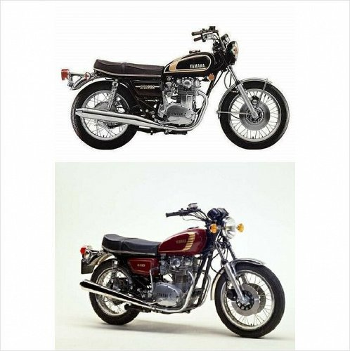 1968-1985 Yamaha XS650 Service & Parts Manual on a CD