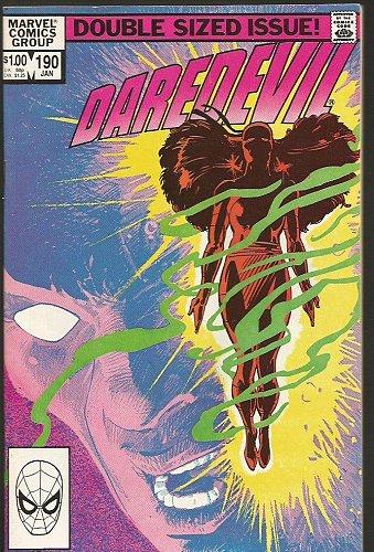 DAREDEVIL #190 Marvel Comics1983 FRANK MILLER Resurrection of ELEKTRA High Grade