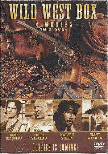4movie DVD 2disc Robert SHAW Burt RENOYLDS Clint WALKER Telly SAVALAS,NAVAJO JOE