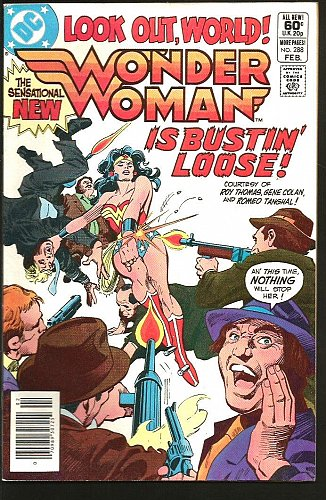 WONDER WOMAN #288 VF- or better DC Comics 1982 SENSATIONAL NEW WW Gene Colan