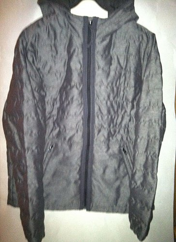 Lucky Brand Men`s Large Nylon Puffer Jacket Gray Superior Quality 7M3748