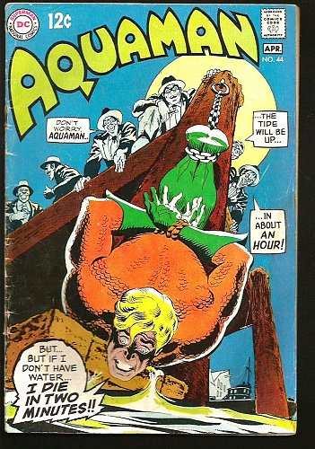 AQUAMAN #44 DC COMICS 1969