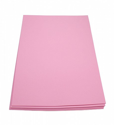 Craft Foam Sheets--12 x 18 Inches -Pink- 5 Sheets-2 MM Thick