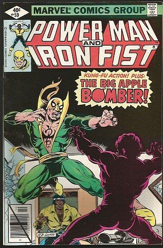 Power Man and Iron Fist #59 Marvel Comics 1979 VF- range