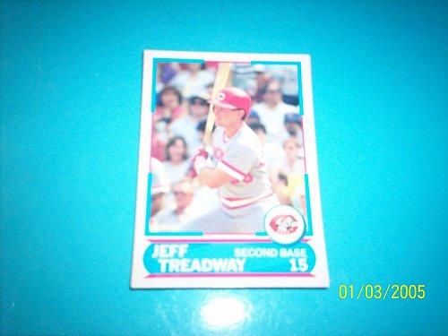 1988 Score Young Superstars series 11 baseball JEFF TREADWAY #26 FREE SHIP