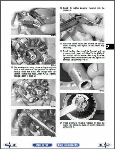 2009 Arctic Cat All 2 and 4 Stroke Model Snowmobiles Service Repair Manual CD
