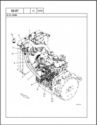 Case 430 Skid Steer Loader Parts Manual Cd