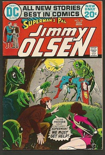 Superman's Pal JIMMY OLSEN #151 1st series DC COMICS 1972