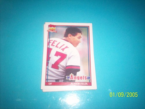 1991 Topps Traded junior felix angels #40T mint free ship