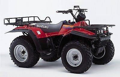 1988 1998 suzuki lt f250 quadrunner lt f4wdx king quad service rh unisquare com Suzuki Quadrunner 250 4x4 Parts 2003 Suzuki Ozark Specs