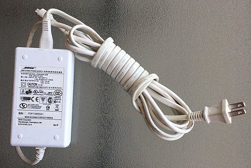 18v white 4pin adapter cord PSM36W 201 Bose SounDock Series ONE sound dock power