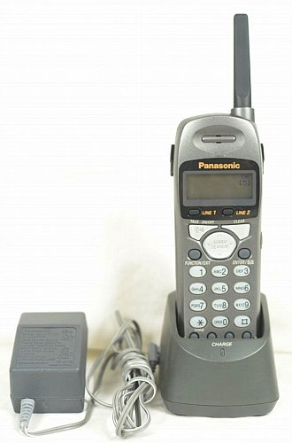 PANASONIC remote charger base wP handset KX TGA200B cradle stand tele phone dock