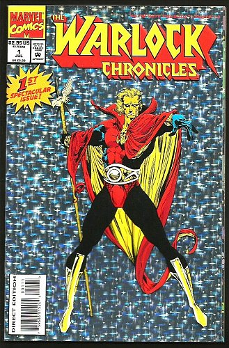 Warlock Chronicles #1 Marvel Comics Fine + 1993 GUARDIANS OF THE GALAXY