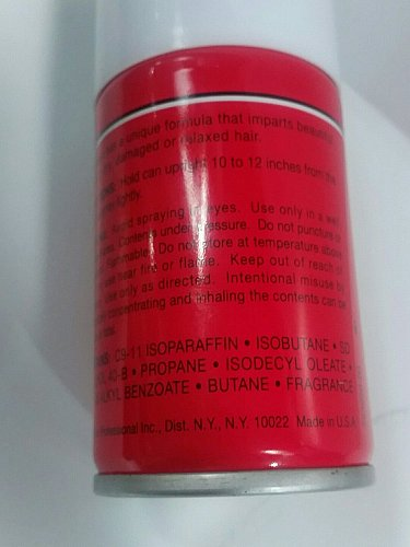 (6 )REVLON FInisheen oil sheen and conditioning spray mini size 1.5 ounce cans