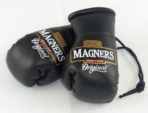 Magners Cider Mini Boxing Gloves (ideal for rear view mirror or the Bar)