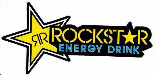 1 New stickers/decals Rockstar Energy Motocross ATV Racing Free shipping