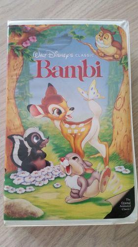 Walt Disney's (Bambi) Black Diamond Edition-Used (405)