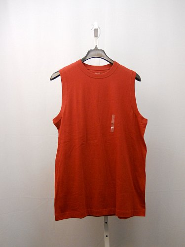 Mens Muscle Tee Shirt SIZE L ROUNDTREE & YORKE SPORT 100% Cotton Solid Red