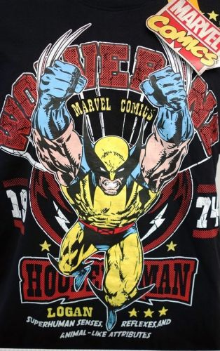 The Wolverine NEW & OFFICIAL Superhero Comics T-Shirts Short Sleeve Jersey