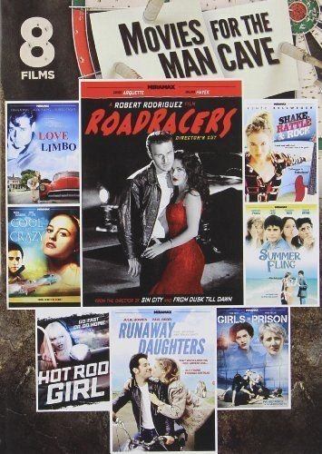 8movie DVD Girls in Prision,Cool and the Crazy,Hot Rod Girl,Runaway Daughters