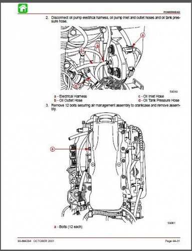Mercury Model 3 Liter Work / 225 EFI / 250 EFI Outboards Service Manual on a CD