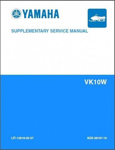 2006-2012 Yamaha VK Professional VK10 Viking Snowmobile Service Manual CD