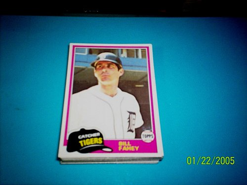 1981 Topps Traded BILL FAHEY PADRES #760 MINT