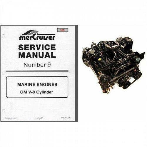 85-88 MerCruiser # 9 GM V-8 Service Repair Manual CD .. MCM 200 230 260 350 454
