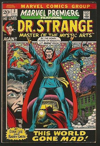 Marvel Premiere #3 Doctor Strange Marvel Comics Barry Windsor Smith 1972 Fine/VF