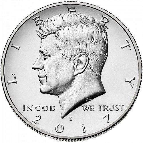 2017 John Kennedy Half JFK Dollar P&D 2 Coin Set 50 Cent Uncirculated From Mint