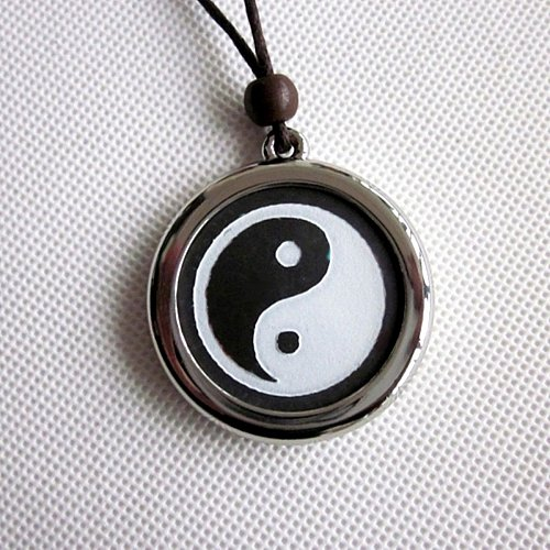 ELECTRIFIED FEEL BETTER EJCN-045A Ying Yang Quantum LIMITED EDITION Pendant