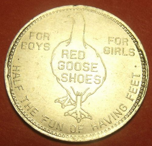 Red Goose Shoes Premium Money $1.00 Off Vintage 28.5mm Medallion~Free Shipping