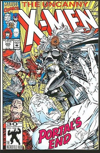 WOLVERINE: Uncanny X-men #285 Marvel Comics 1st print 1992